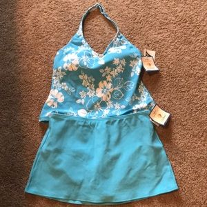 LL Bean Two Piece Bathing suit
